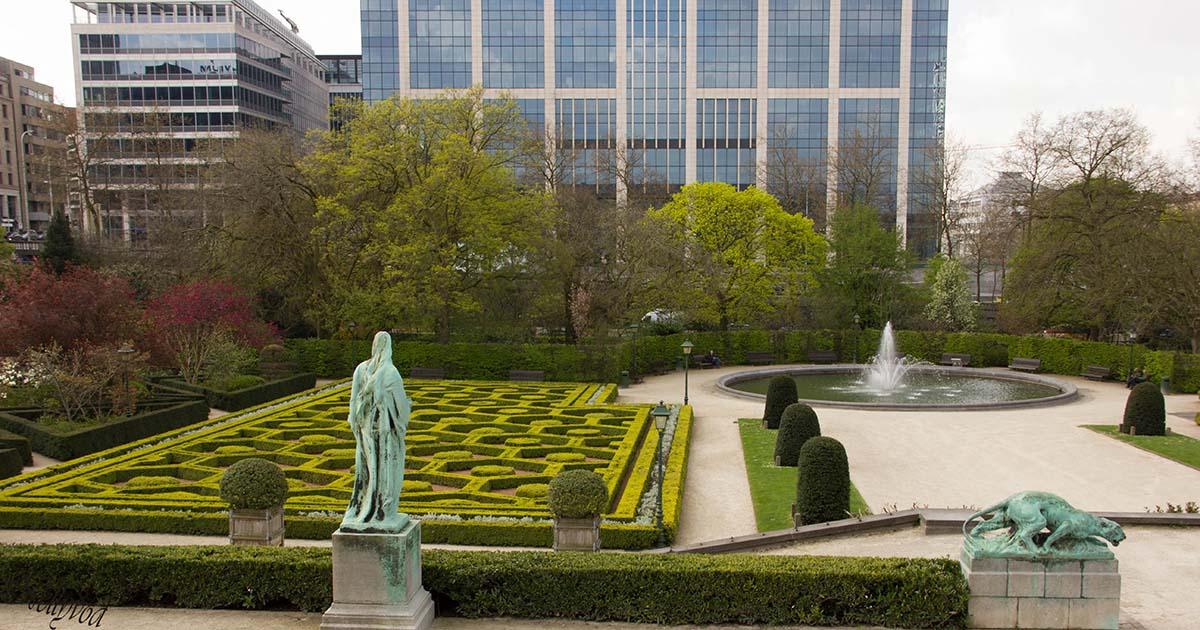 Ботанически рай в центъра на Брюксел