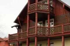 Къща в типична западно украйнски архитектурен стил
