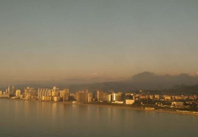 Batumi from sky