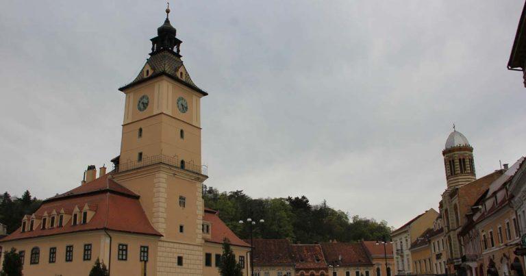 Брашов - центъра на стария град
