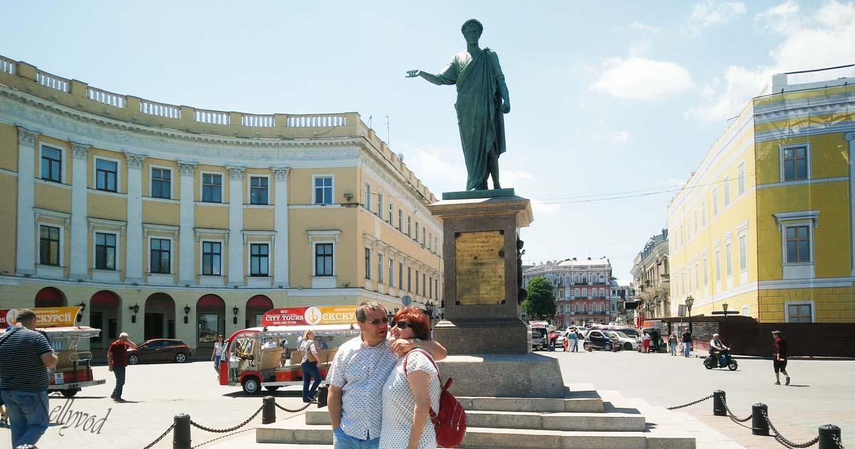 Паметник на Дюк де Ришельо, мъдрият градоначалник допринесал за разцвета на града