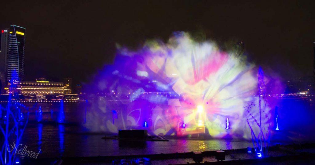 Светлинното шоу с холограми