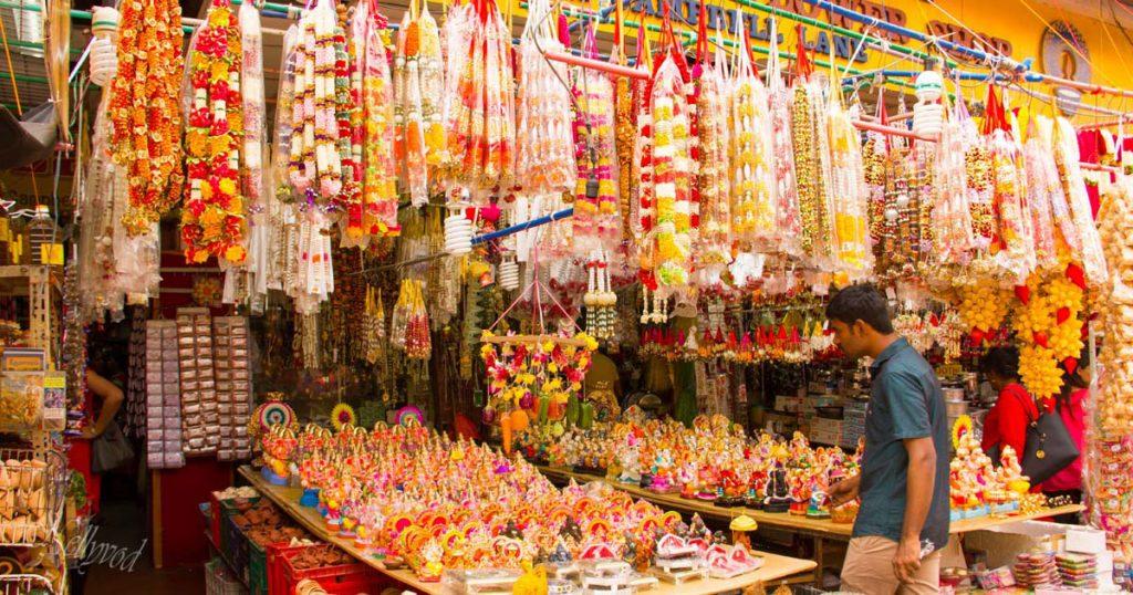 Пазар в малка Индия