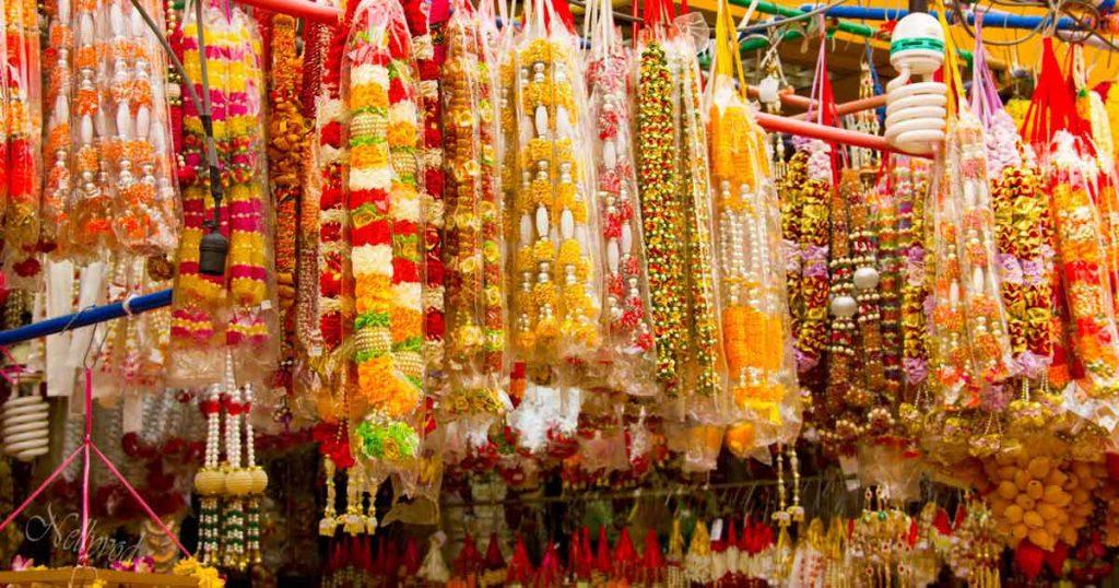 На пазара в малка Индия