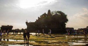 Храмът в морето ТаханЛог по обяд