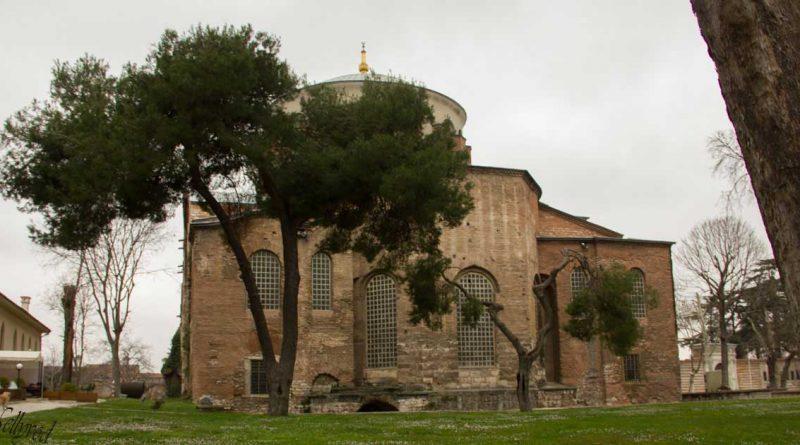 св. Ирина - сега археологически музей