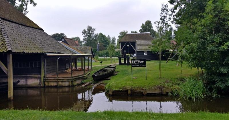 Giethoorn 't Olde Maat Uus - музей на фермата