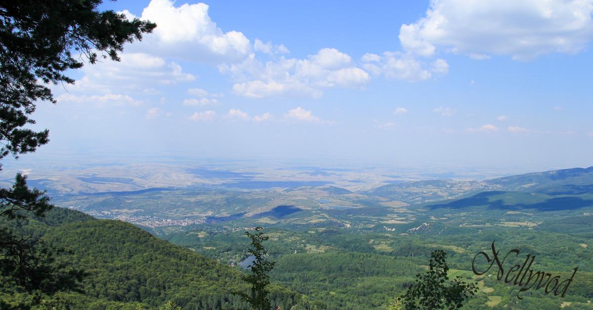 Гледката от Гарванова скала