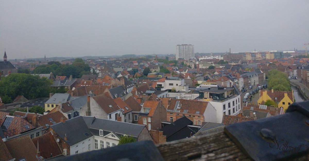 Прекрасната гледка от кулите на замъка