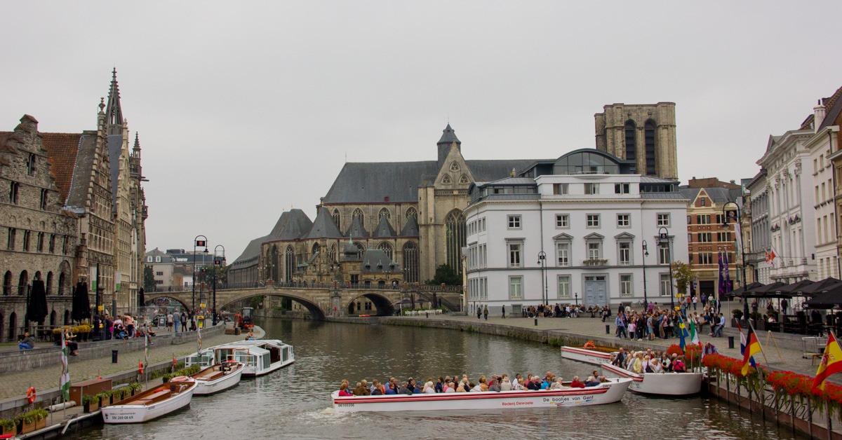 Каналите на Гент
