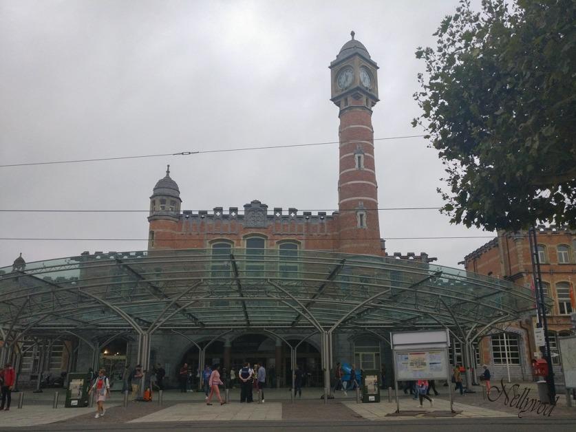 Гарата в Гент (Gent-Sint-Pieters)