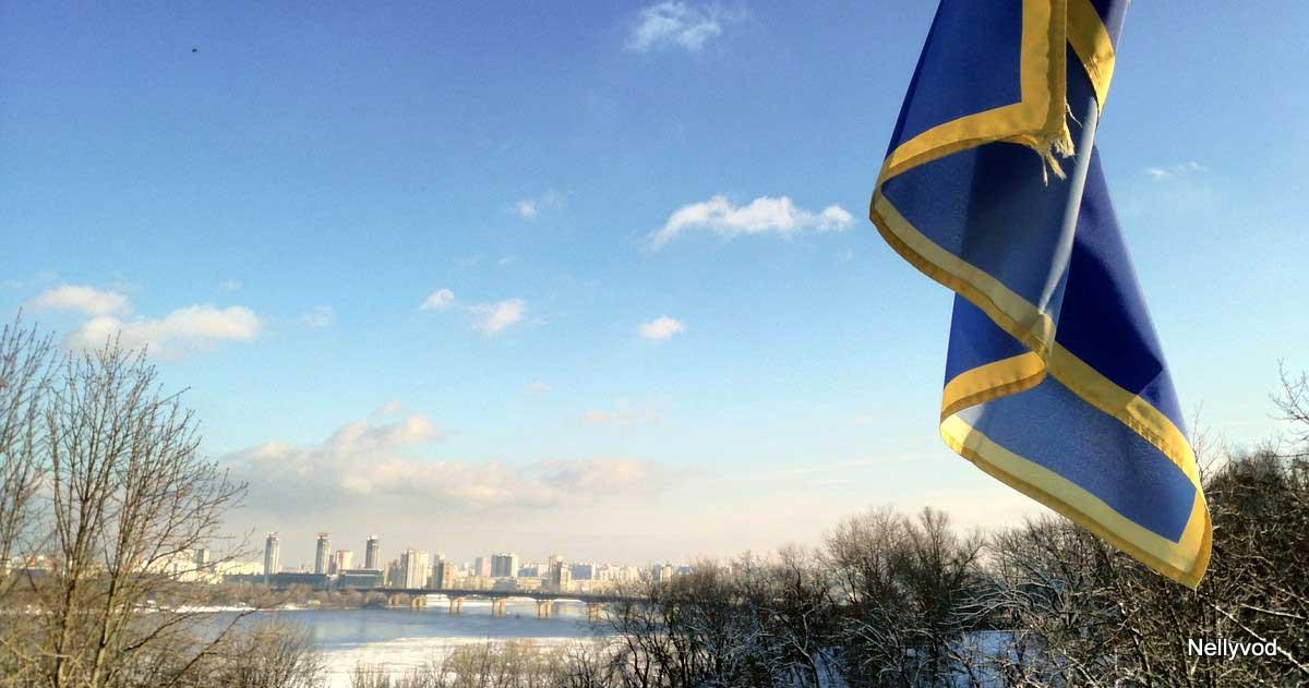 Изглед към Днепър и Левия бряг