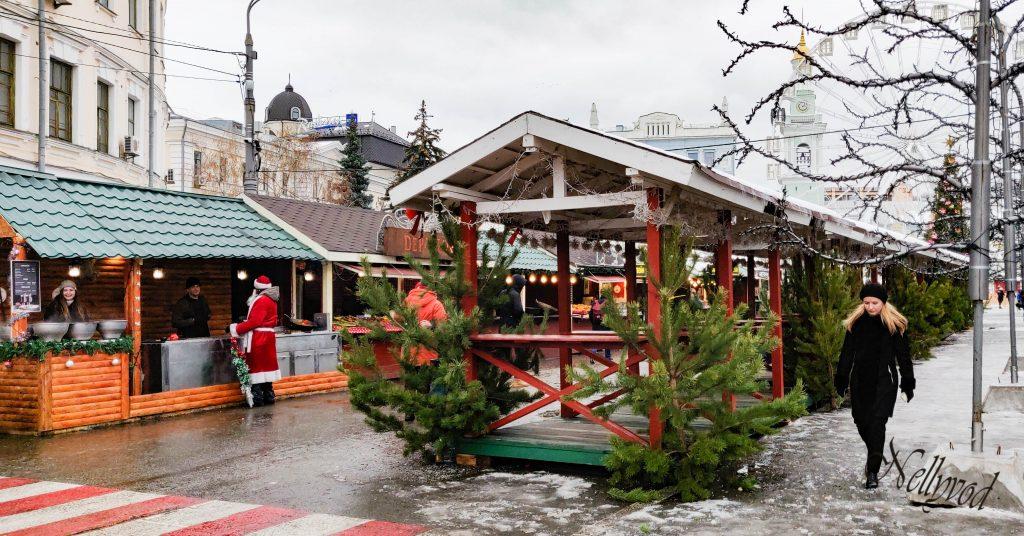 Коледен базар в квартал Подол