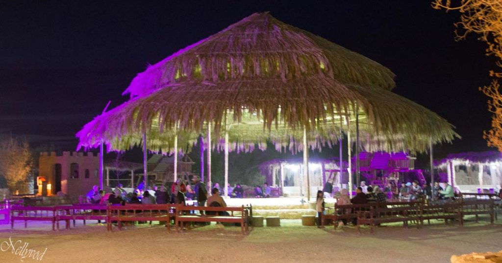 Сцена за бедуинско представление