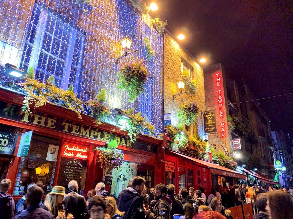 Най-известният бар в Дъблин