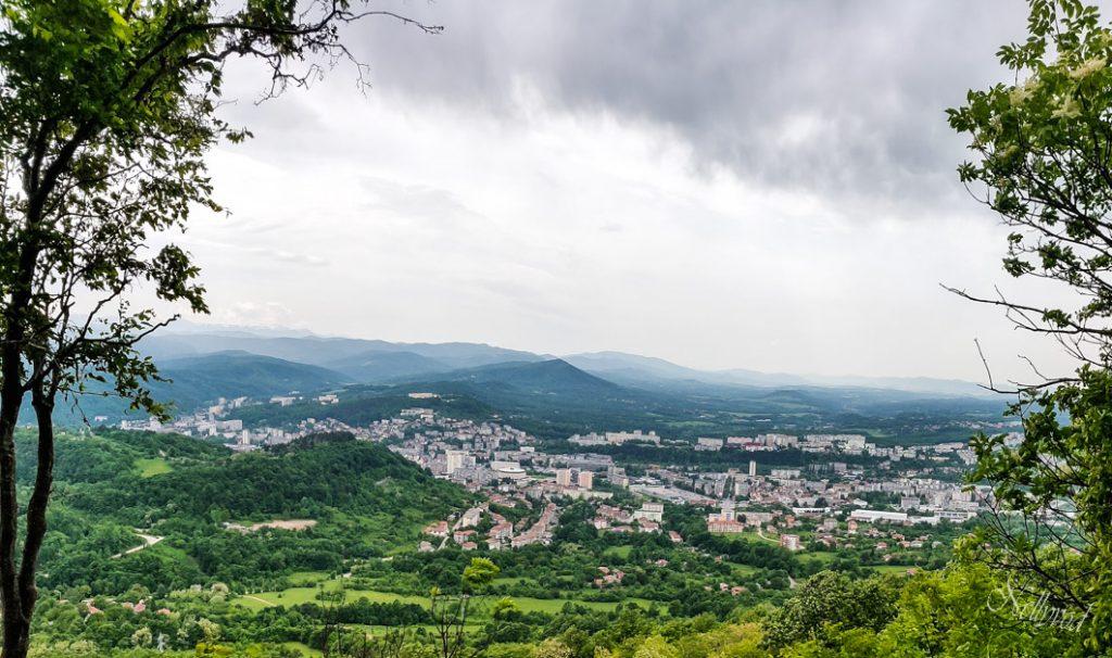 Панорамен изглед към град Габрово