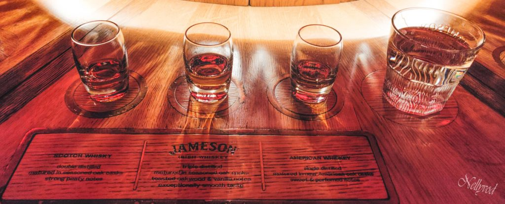 Залата за дегустация на Jameson